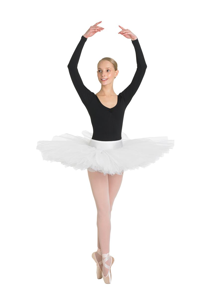 Балерина в прозрачной юбочке