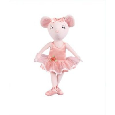 angelina ballerina cloth doll - gift ideas for young ballet dancers