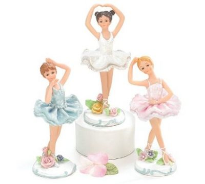 ballerina figurine - gift ideas for young ballet dancers