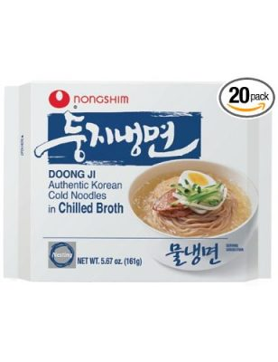 Nongshim Doong Ji Cold Noodles in Chilled Broth