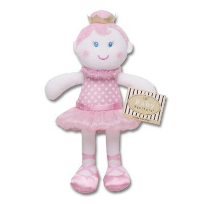 ballerina plush snuggle - gift ideas for young ballet dancers
