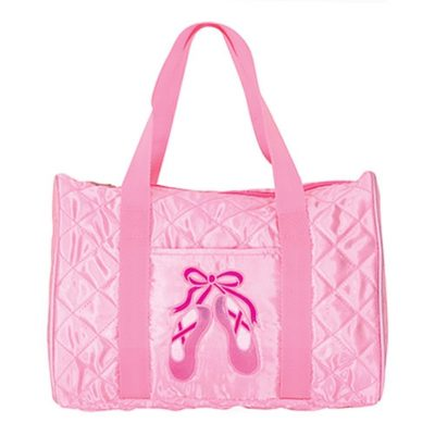 ballet duffle bag - gift ideas for young ballet dancers