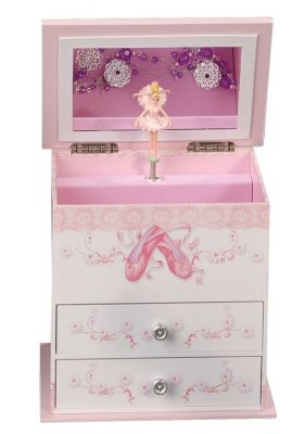 ballerina jewelry box - gift ideas for young ballet dancers