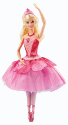 barbie- ballerina kristyn - gift ideas for young ballet dancers