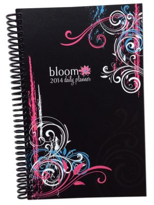 2014 bloom Calendar Year Daily Day Planner Fashion Organizer