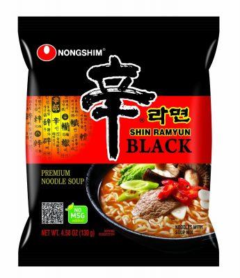 II.Nongshim Shin Ramyun Black Premium Noodle Soup
