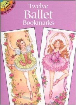 ballet bookmarks