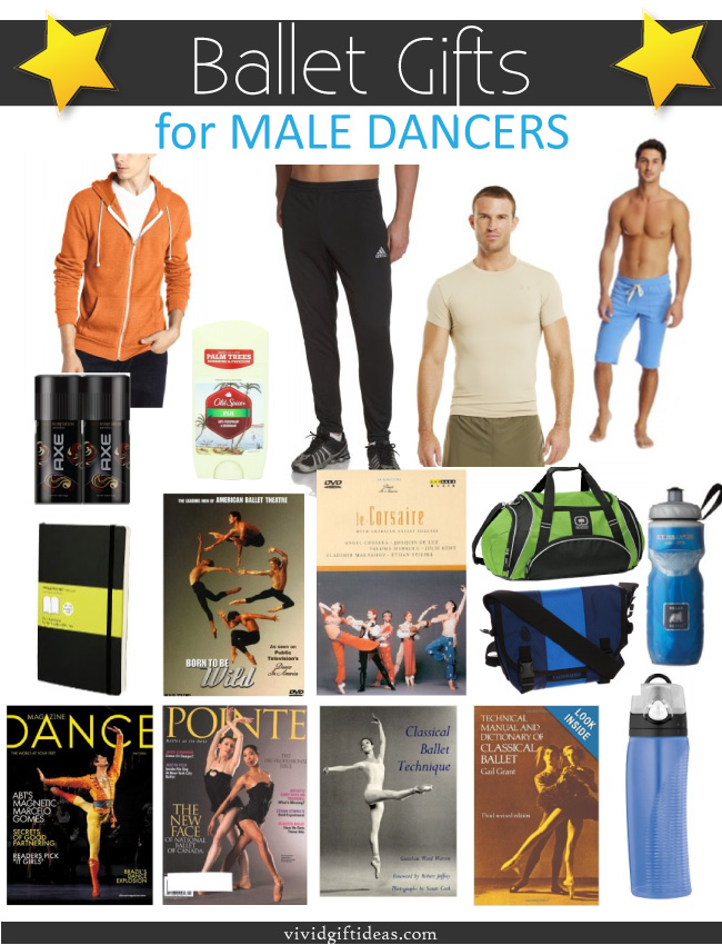 Ballet Gifts - Gifts for Male Ballet Dancers