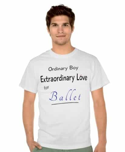 Ordinary Boy Extraordinary Love for Ballet