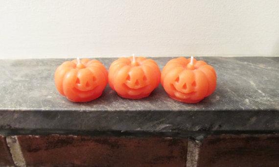 Cute Pumpkin Candle