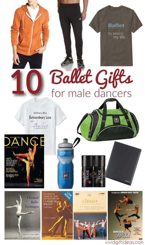 gifts for male dancers