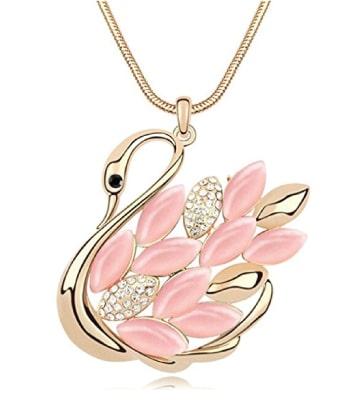 graceful swan necklace | dance recital gifts for ballet dancers