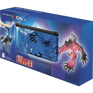 Nintendo Pokemon X & Y Limited Edition 3DS XL (Blue)