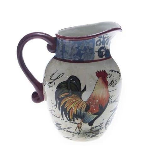 Certified International Lille Rooster Pitcher