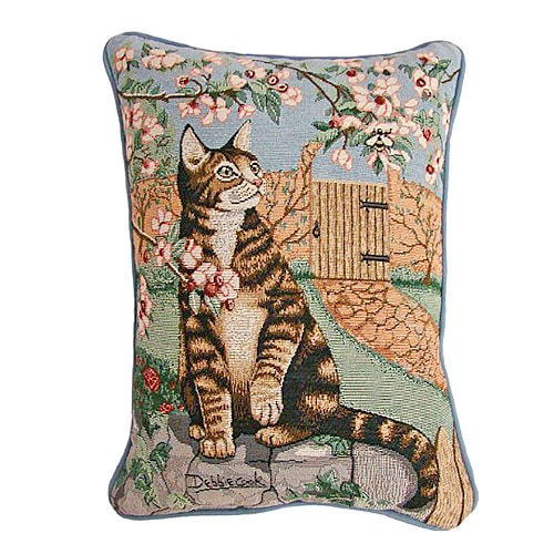 American Mills Cat and Bee Pillow