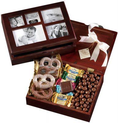 Broadway Basketeers Chocolate Photo Gift Box (Kosher)