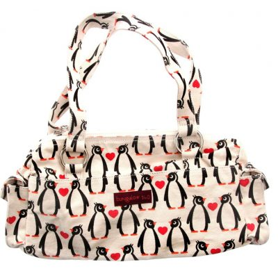 Bungalow360 Penguins Satchel Handbag
