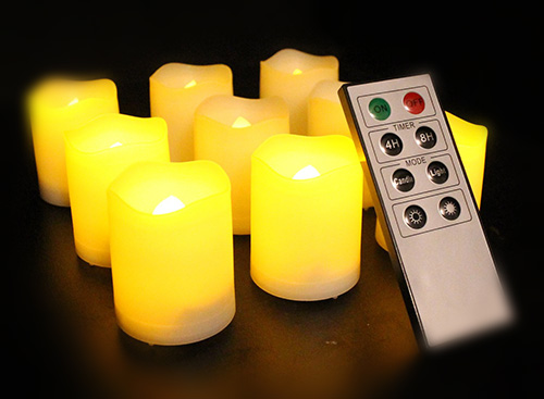 Frostfire Mooncandles Remote-Control Candles