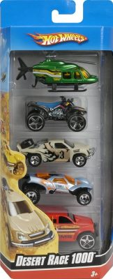 Hot Wheels 5 Car Gift Pack