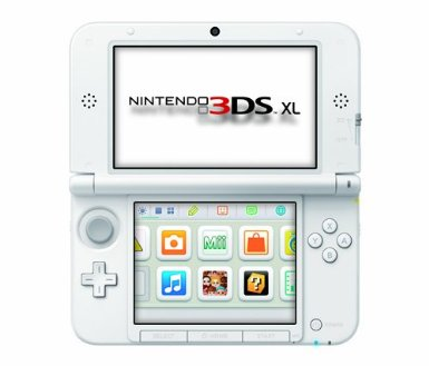 Nintendo 3DS XL Pink/White - Nintendo 3DS XL
