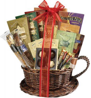 Coffee and Tea Gift Basket