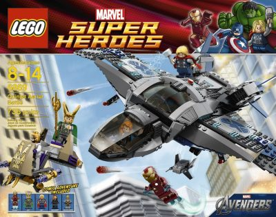 The Avengers Lego Set