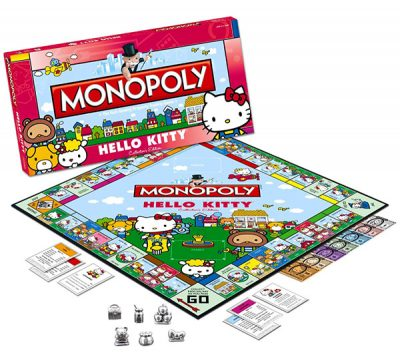 Hello Kitty Monopoly - Cute Hello Kitty Gifts