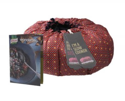 Wonderbag Portable Slow Cooker with Knorr Recipe Cookbook
