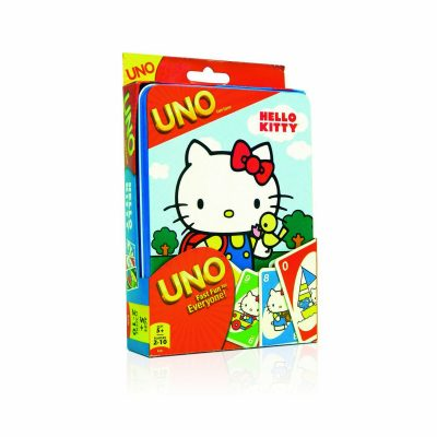 Hello Kitty Uno Card Game in Tin - Cute Hello Kitty Gifts