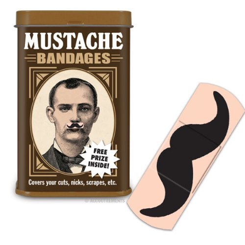Accoutrements Mustache Bandages