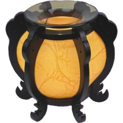 Asian Style round bowl oil warmer burner