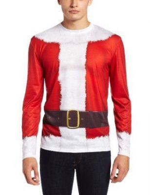 Faux Real Men's Santa Claus