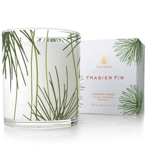 Frasier Fir Thymes Poured Candle
