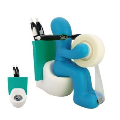 Funny Supply Station Desk Accessory Holder