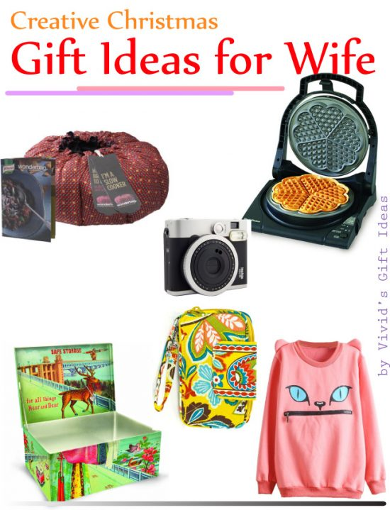 7 Creative Christmas Gift Ideas For Wife - Vivid's Gift Ideas