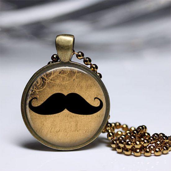 Mustache Vintage Pendant