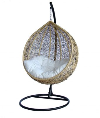 Trully - Outdoor Wicker Swing Chair