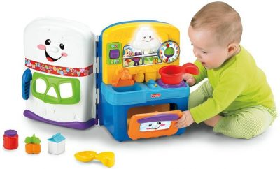 Fisher-Price Laugh and Learn: Learning Kitchen (1st Birthday Gift Ideas For Boys and Girls)