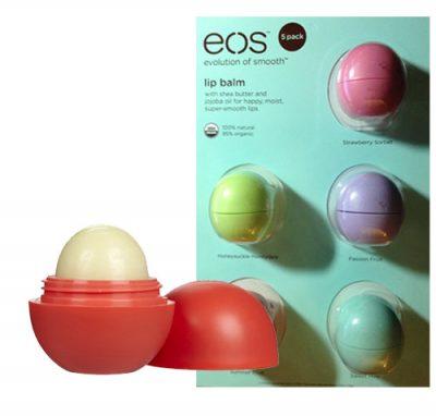 eos Organic Smooth Sphere Lip Balm (5 Pack)
