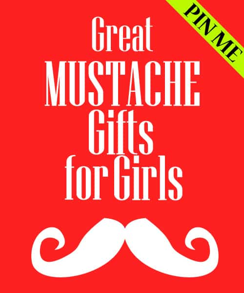 Mustache Goodies for All