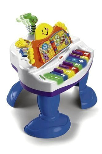 Fisher-Price Interactive Baby Grand Piano (1st Birthday Gift Ideas For Boys and Girls)