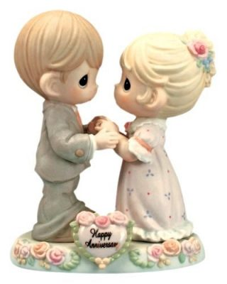 "Precious Moments ""Our Love Was Meant To Be"" Figurine"