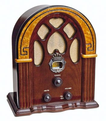 Crosley Companion Radio (Walnut)