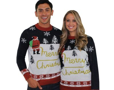 Tipsy Elves Ugly Christmas Sweater - romantic Christmas gift ideas for boyfriend