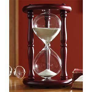 Hourglass Sand Timer - 20 Minute