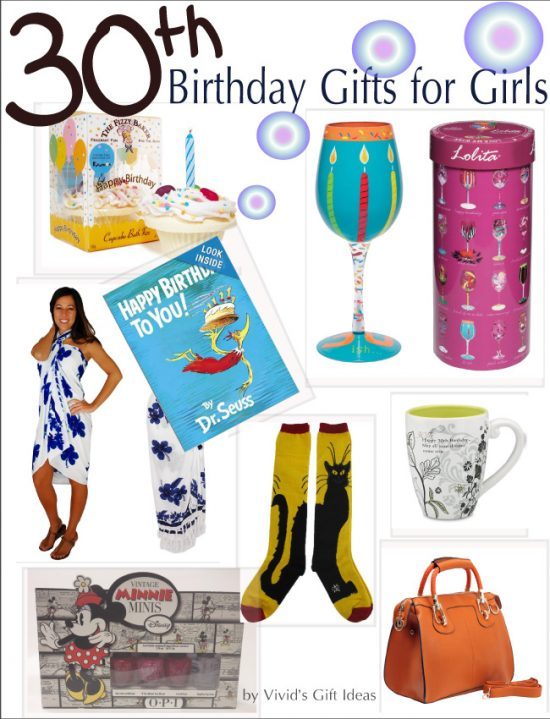 30th Birthday Gifts For Girls