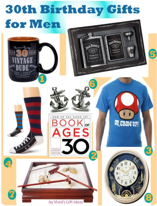 30th Birthday Gifts For Men