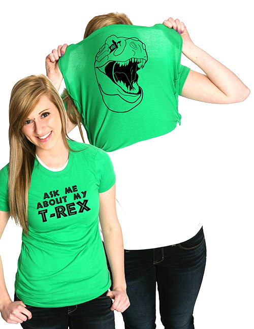 Ask Me About My T-Rex - Funny Valentines Day Gifts