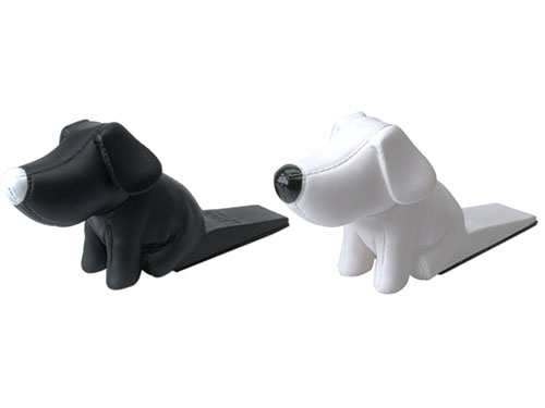 Present Time Silly Doggy Door Stoppers - Funny Valentines Day Gifts