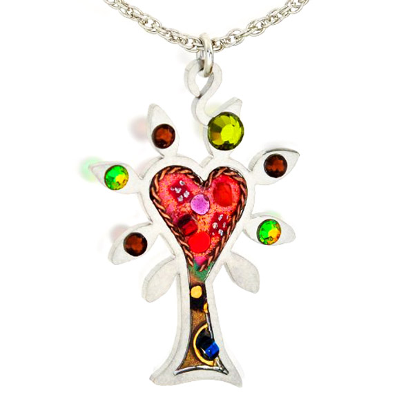 Seeka Tree of Love Necklace from The Artazia Collection
